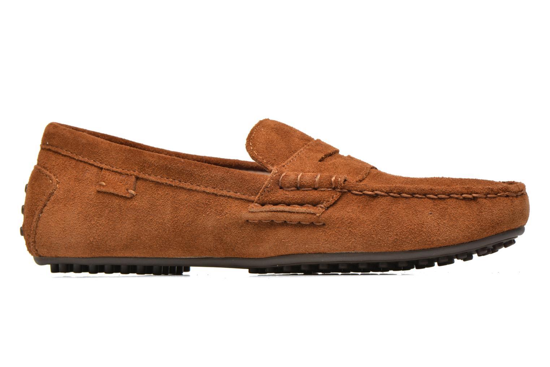 Loafers Polo Ralph Lauren Wes-E Brun bild från baksidan