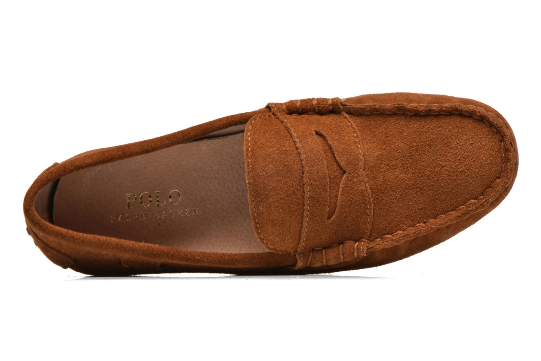 Loafers Polo Ralph Lauren Wes-E Brun bild från vänster sidan
