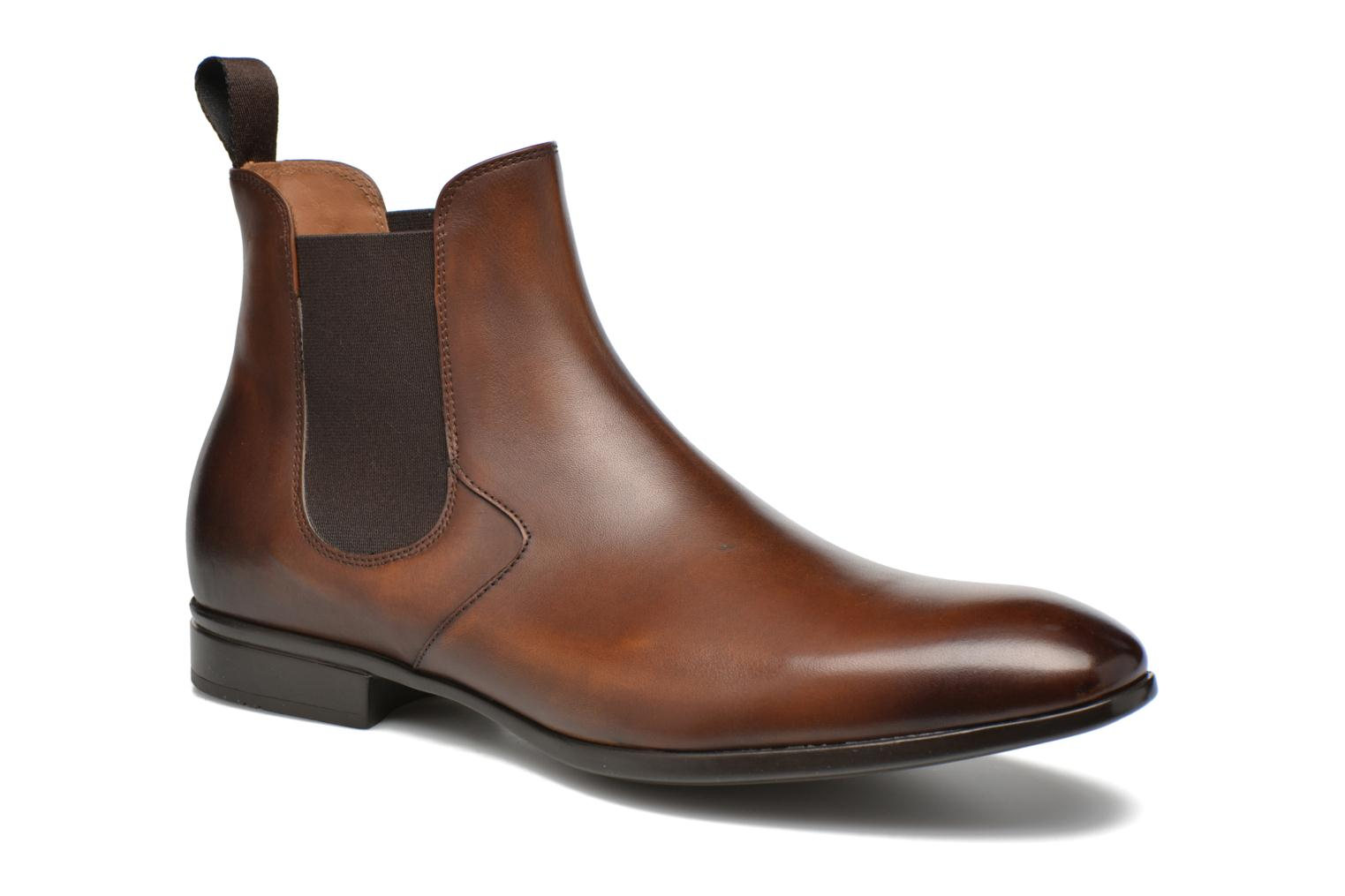 Marques Chaussure luxe homme Doucal's homme OMAR Radica Brandy