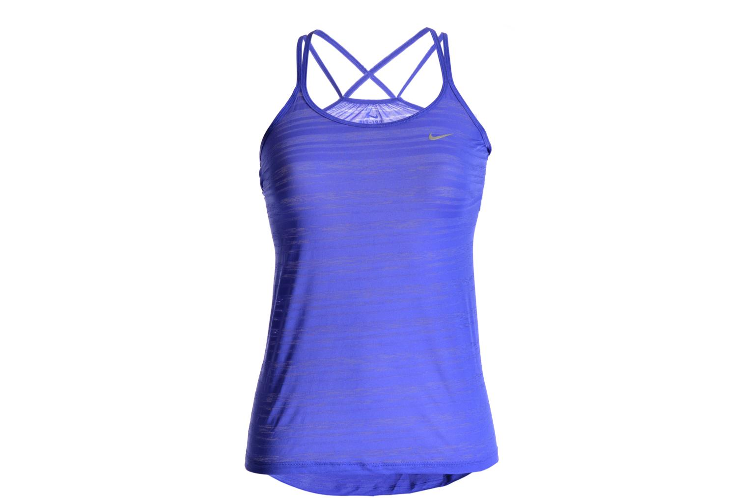 Sonstiges Nike Nike Df Cool Breeze Strappy Ta lila detaillierte ansicht/modell