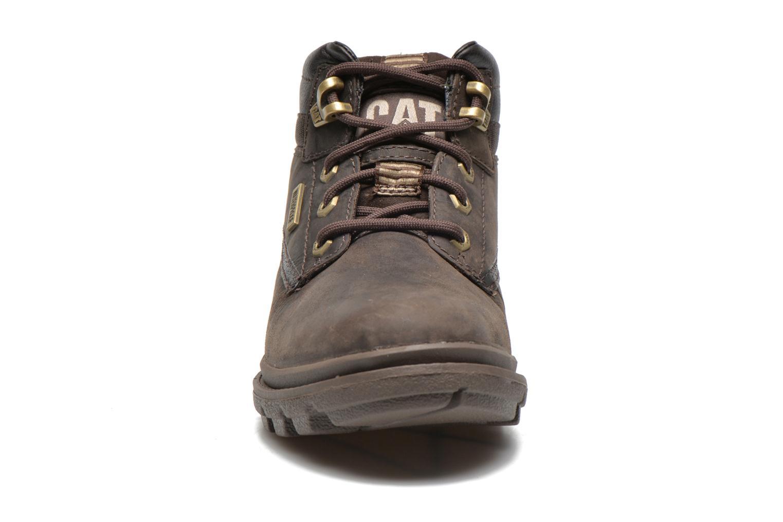 Boots en enkellaarsjes Caterpillar Grady WP Bruin model