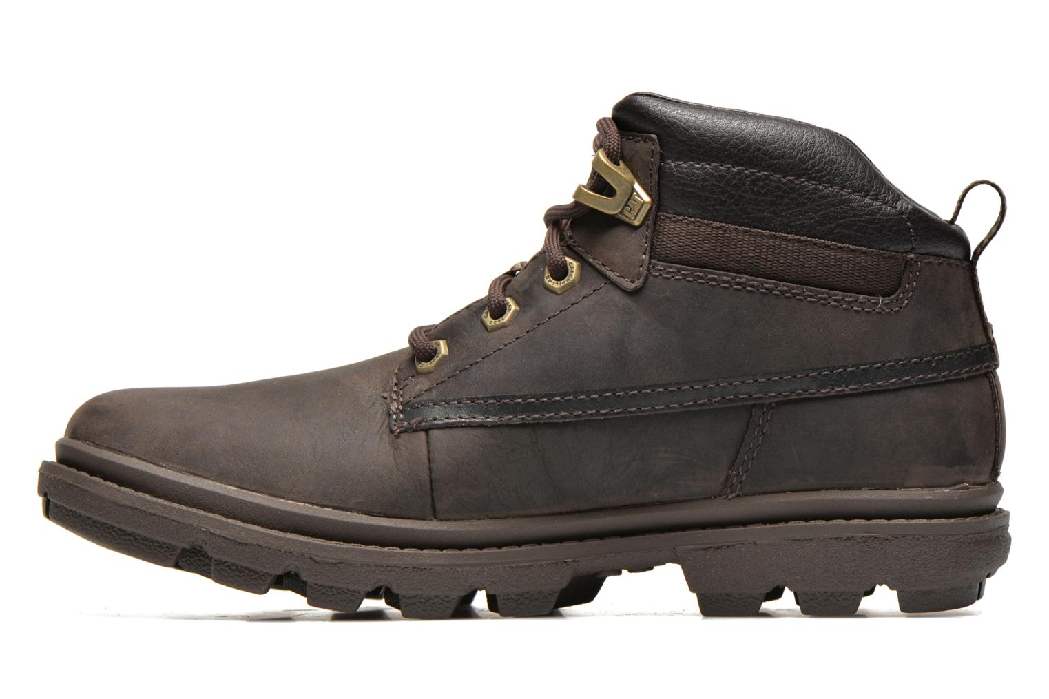 Ankle boots Caterpillar Grady WP Brown front view