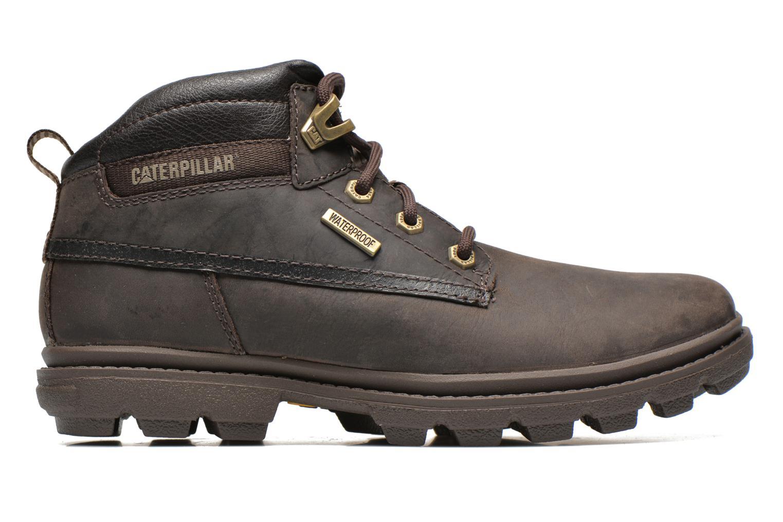 Boots en enkellaarsjes Caterpillar Grady WP Bruin achterkant