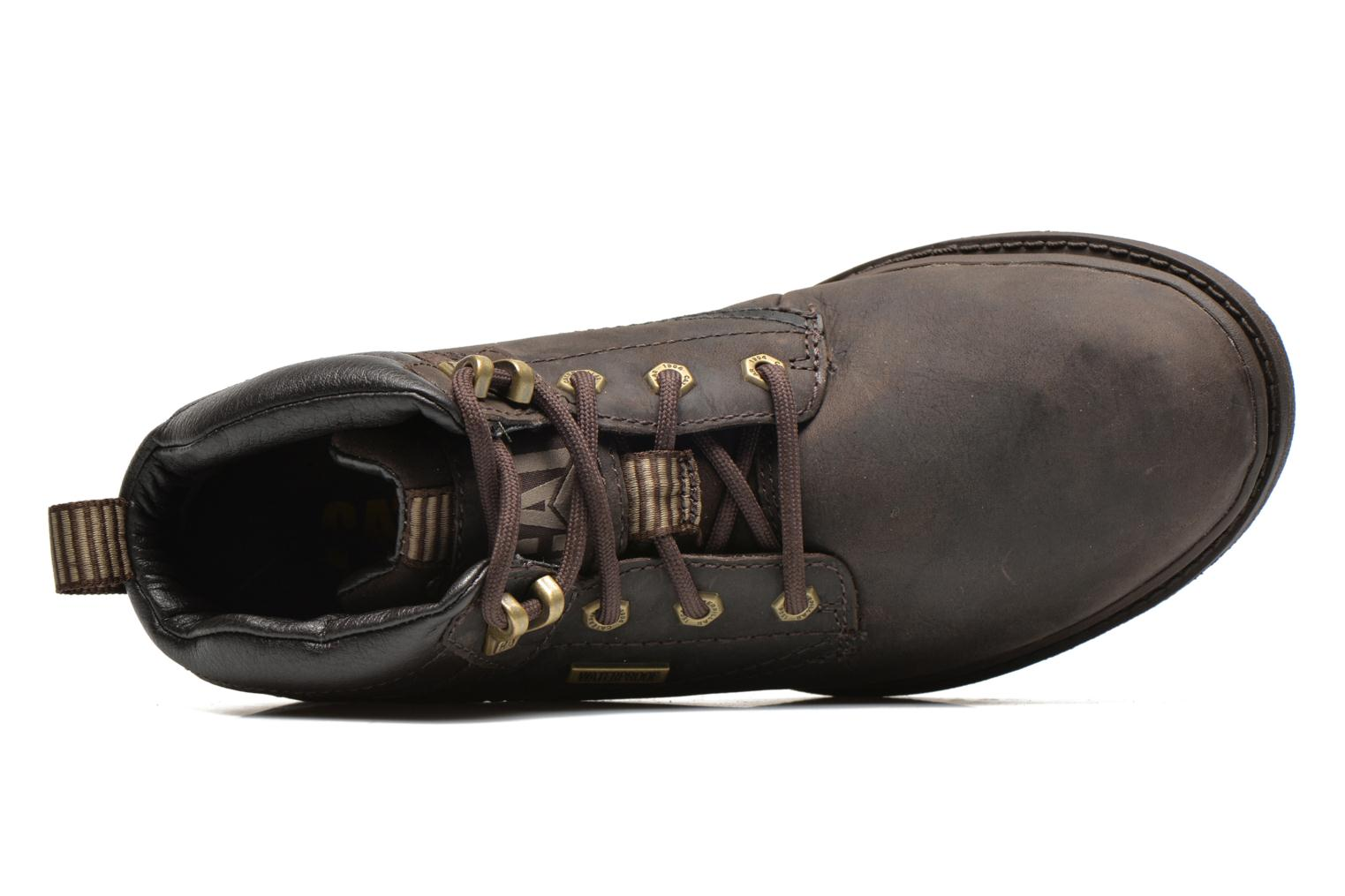 Ankle boots Caterpillar Grady WP Brown view from the left