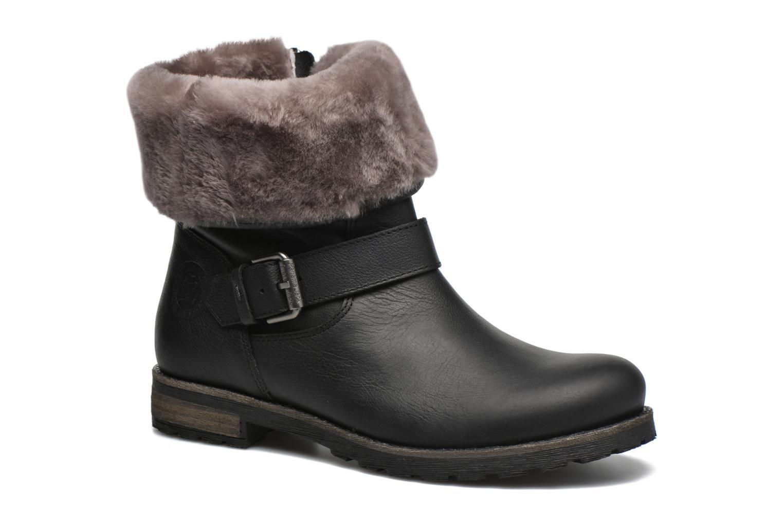 Bottines et boots Panama Jack Singapur Igloo B Noir vue détail/paire