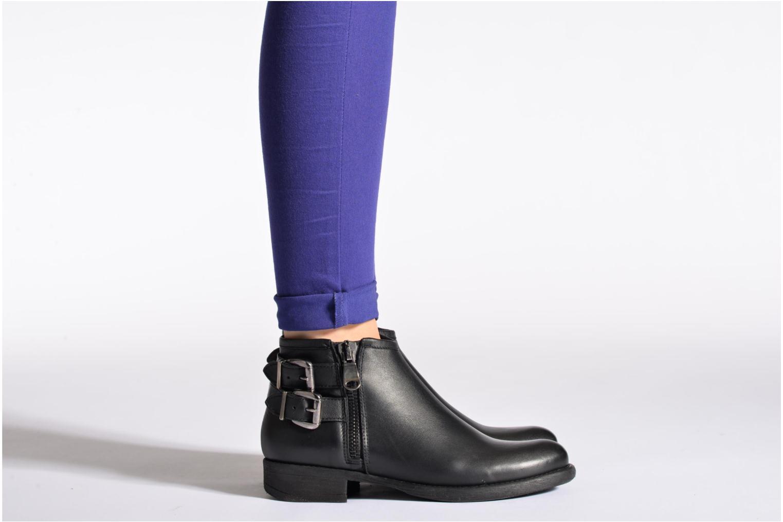 Bottines et boots Sweet Lemon L.5.Etoule Noir vue bas / vue portée sac