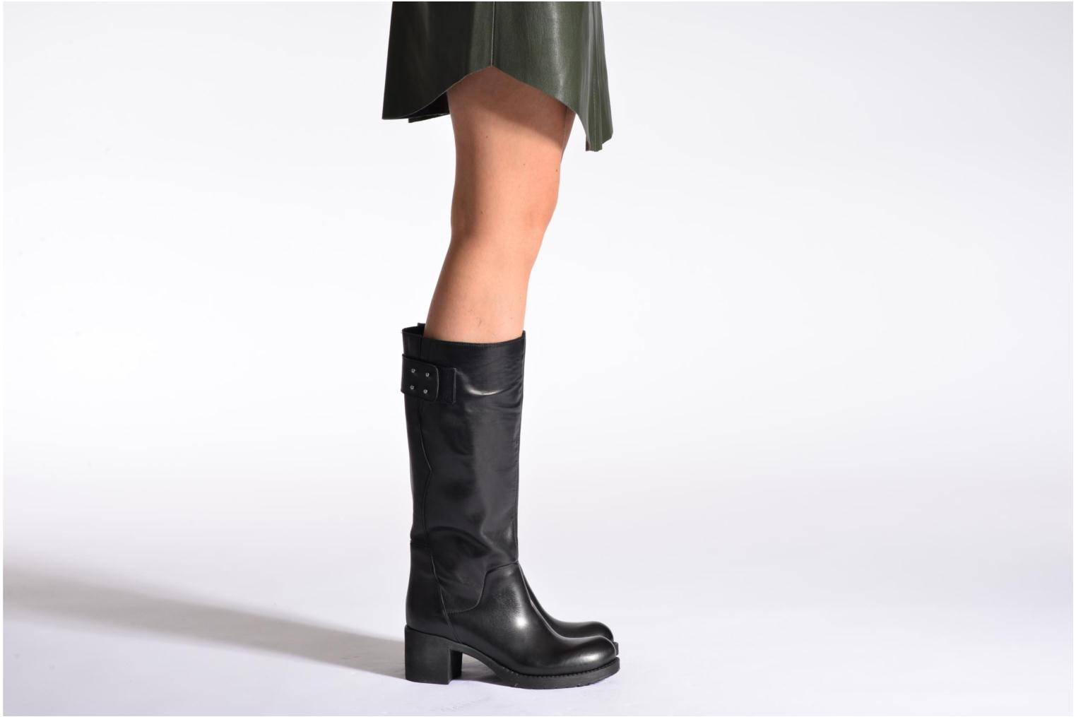 Boots & wellies Sweet Lemon L.5.Elvire Black view from underneath / model view