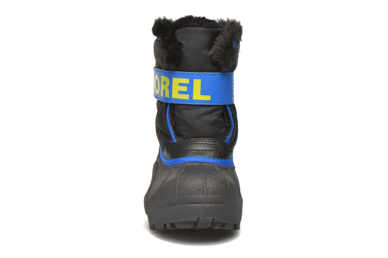 Bottes Sorel Snow Commander Bleu vue portées chaussures