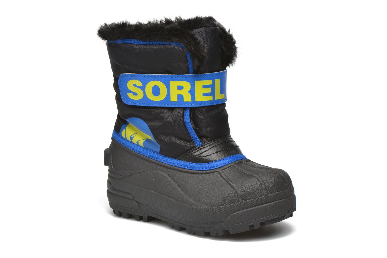 Bottes Sorel Snow Commander Bleu vue détail/paire