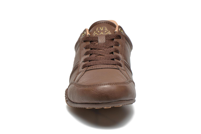 Baskets Kappa Mezzio A2 Marron vue portées chaussures