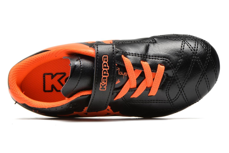 Chaussures de sport Kappa Player FG EV Noir vue gauche