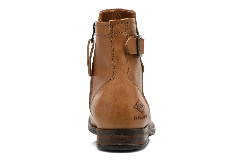 Boots en enkellaarsjes P-L-D-M By Palladium Underlay Bruin rechts