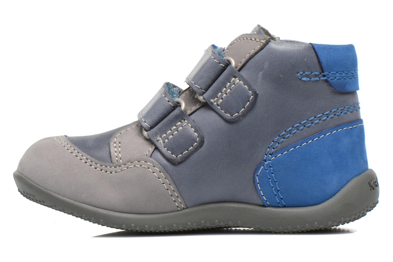 Boots en enkellaarsjes Kickers Bi Too Blauw voorkant