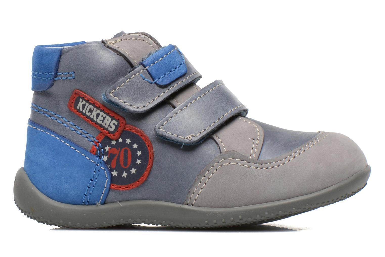 Bottines et boots Kickers Bi Too Bleu vue derrière