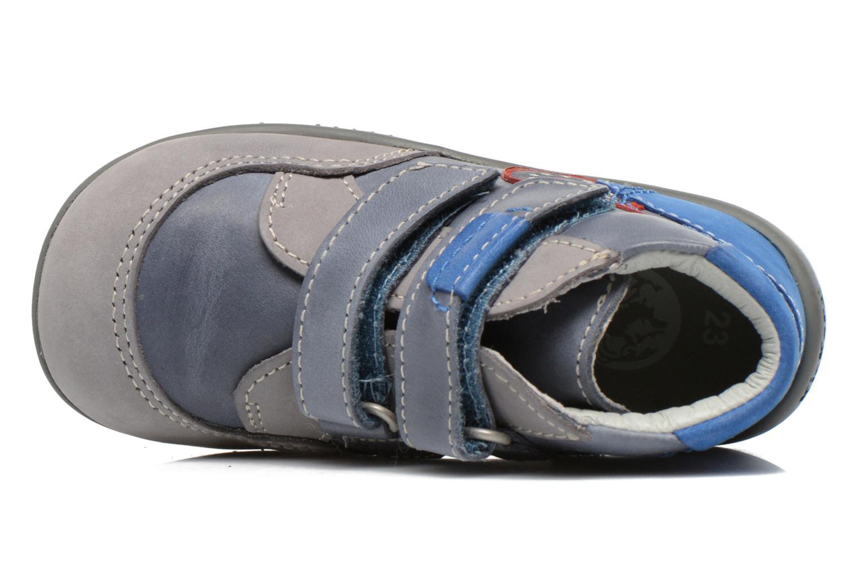 Bottines et boots Kickers Bi Too Bleu vue gauche