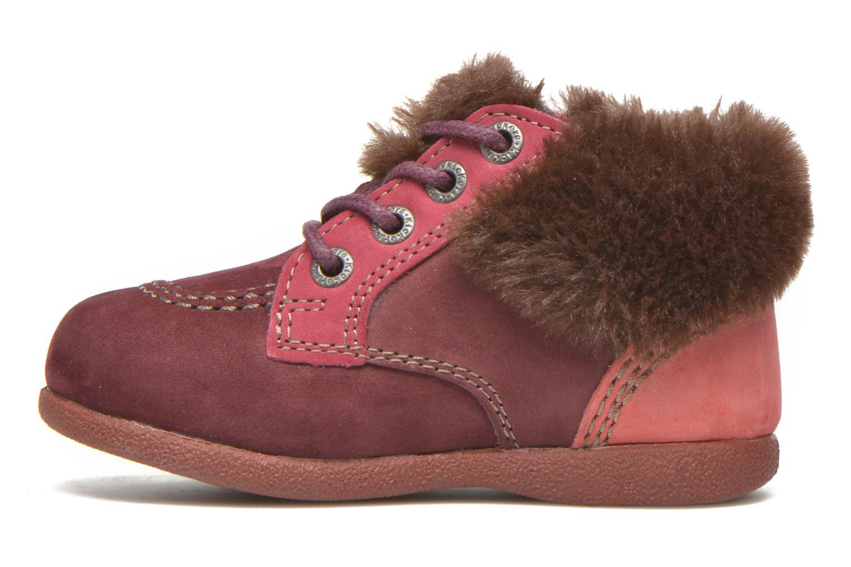 Bottines et boots Kickers Babyfrost Rose vue face