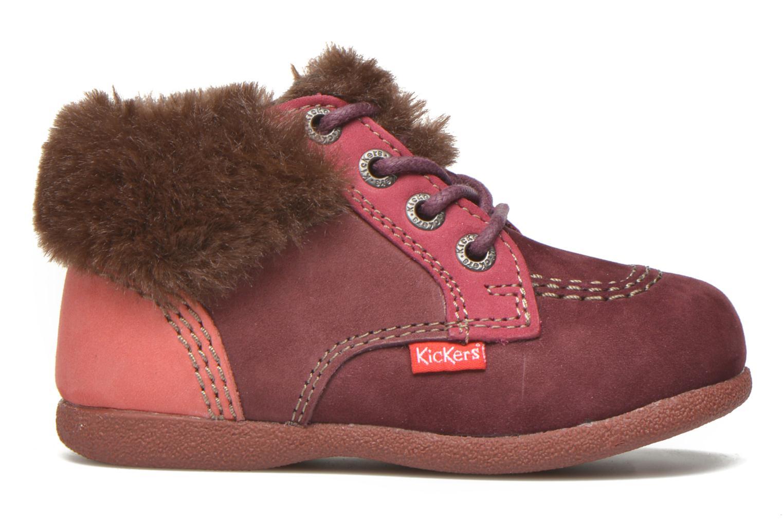 Bottines et boots Kickers Babyfrost Rose vue derrière