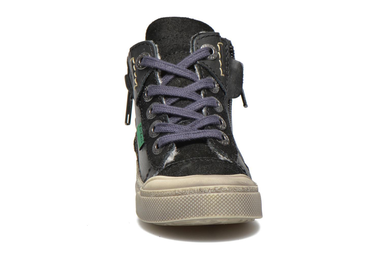 Baskets Kickers Cuzip Noir vue portées chaussures
