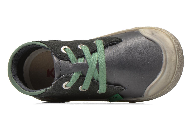 Baskets Kickers Cuzvineb Vert vue gauche