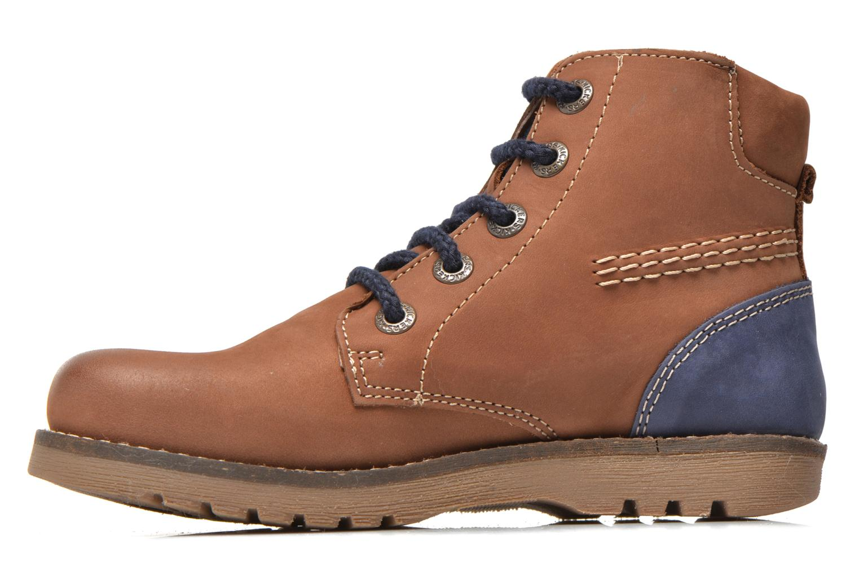 Bottines et boots Kickers Hallo Marron vue face
