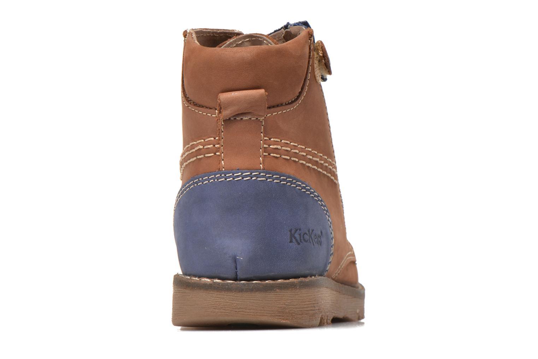 Bottines et boots Kickers Hallo Marron vue droite