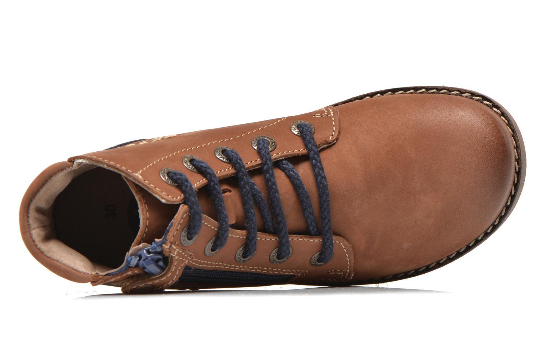 Bottines et boots Kickers Hallo Marron vue gauche