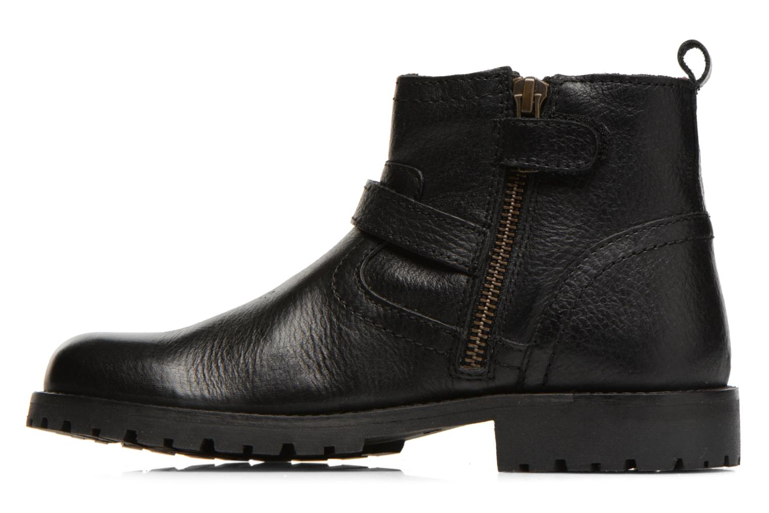 Bottines et boots Kickers Harry Noir vue face