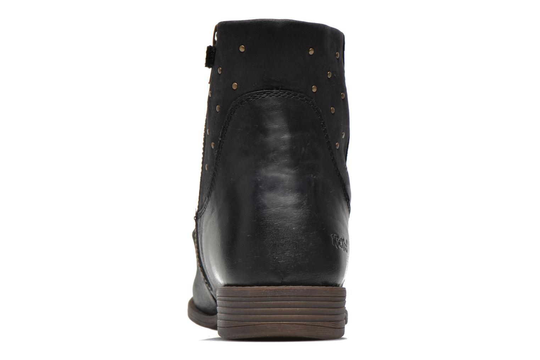 Bottines et boots Kickers Robber Noir vue droite