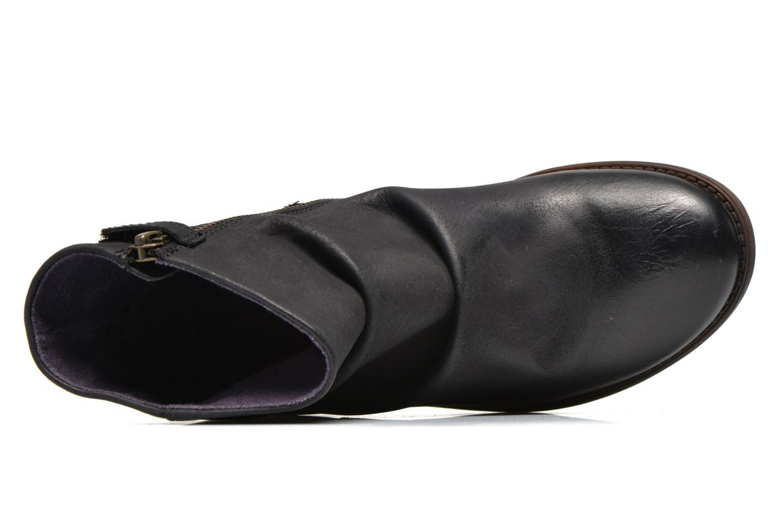 Bottines et boots Kickers Robber Noir vue gauche