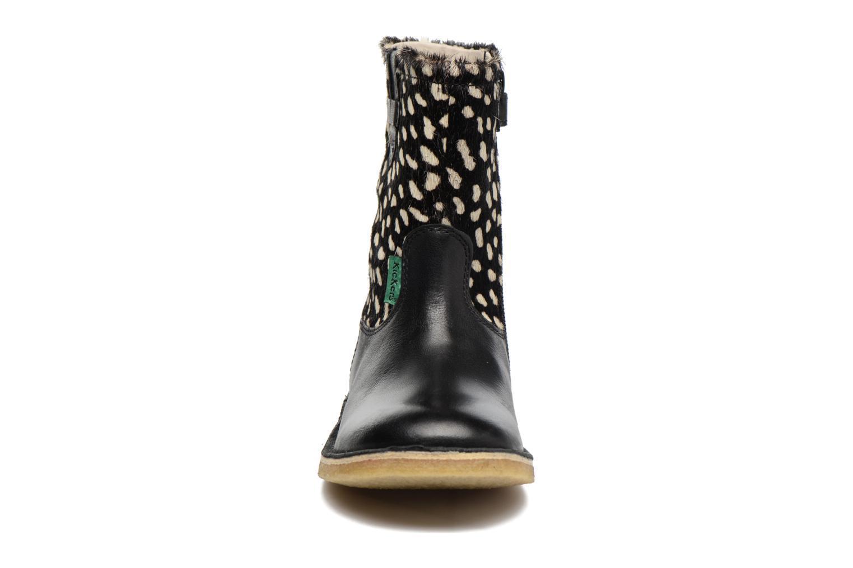 Stiefel Kickers Cressona schwarz schuhe getragen