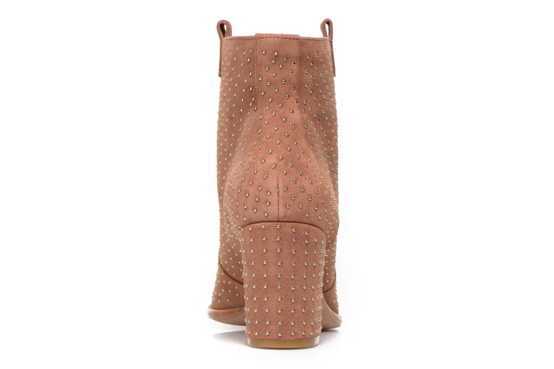 Stiefeletten & Boots Rebecca Minkoff Blake Stud beige ansicht von rechts