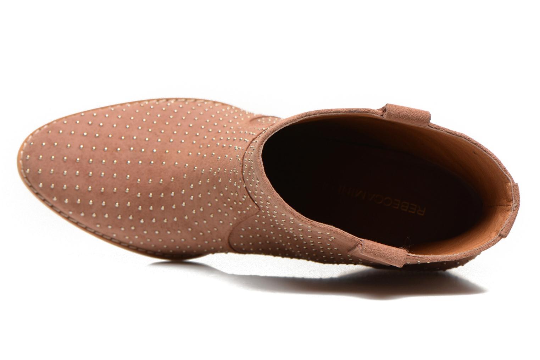 Stiefeletten & Boots Rebecca Minkoff Blake Stud beige ansicht von links