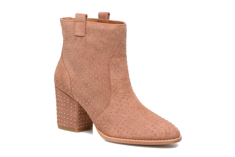 Boots en enkellaarsjes Rebecca Minkoff Blake Stud Beige detail