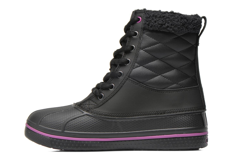 Bottines et boots Crocs AllCast Waterproof Duck Boot W Noir vue face