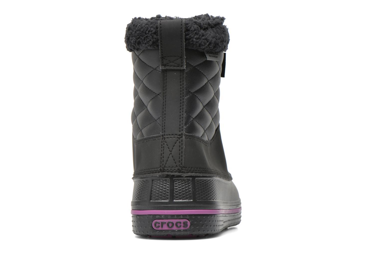 Bottines et boots Crocs AllCast Waterproof Duck Boot W Noir vue droite