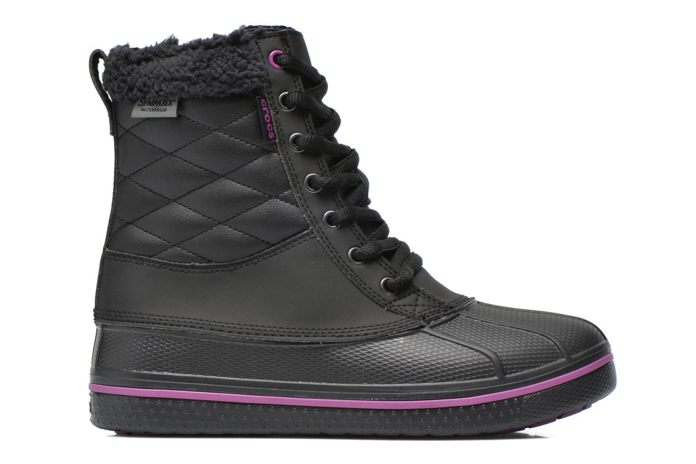 Bottines et boots Crocs AllCast Waterproof Duck Boot W Noir vue derrière