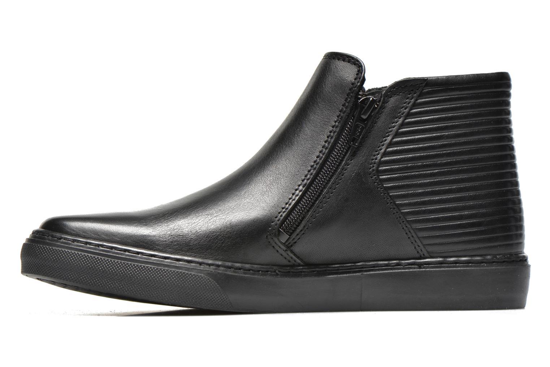 Sneakers Bronx Alyosha Zwart voorkant