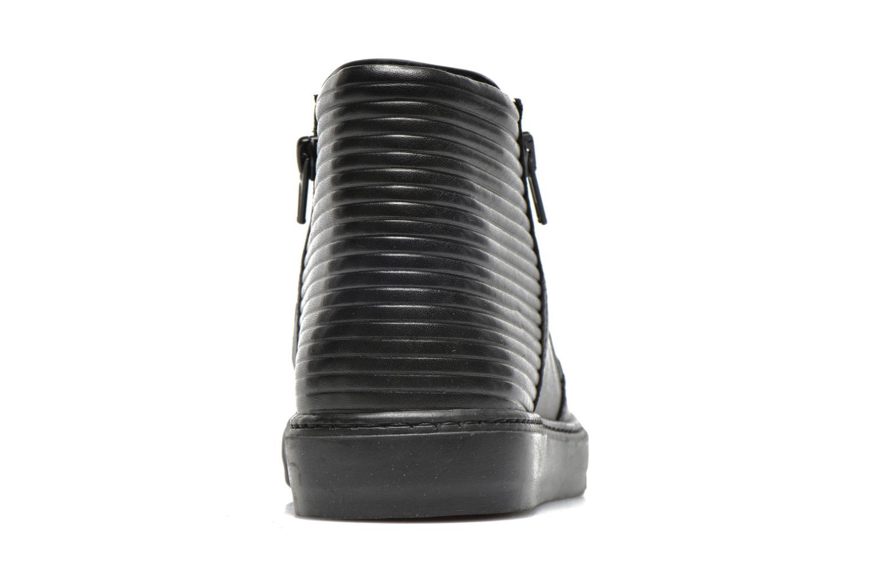 Sneakers Bronx Alyosha Zwart rechts