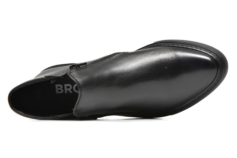 Sneaker Bronx Alyosha schwarz ansicht von links