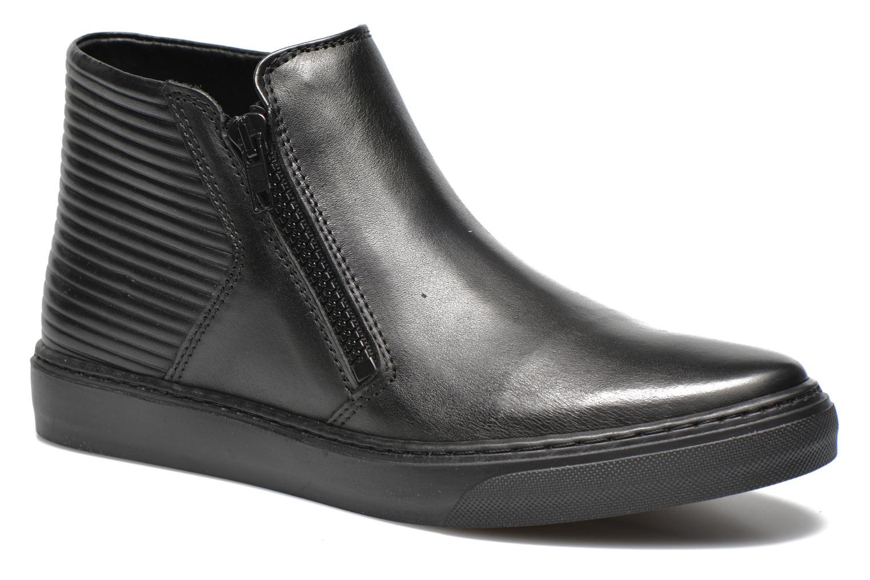 Sneakers Bronx Alyosha Zwart detail