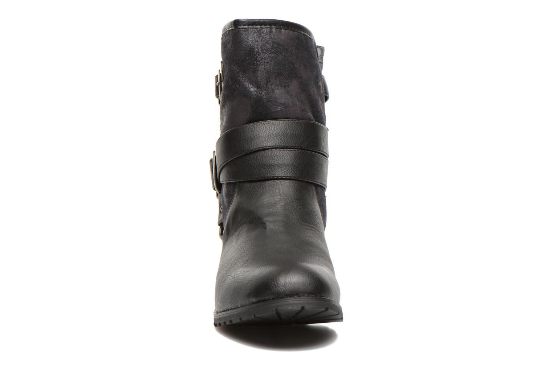 Bottines et boots Kaporal Ricky Noir vue portées chaussures