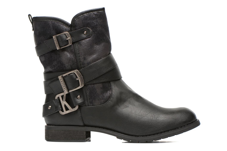 Bottines et boots Kaporal Ricky Noir vue derrière