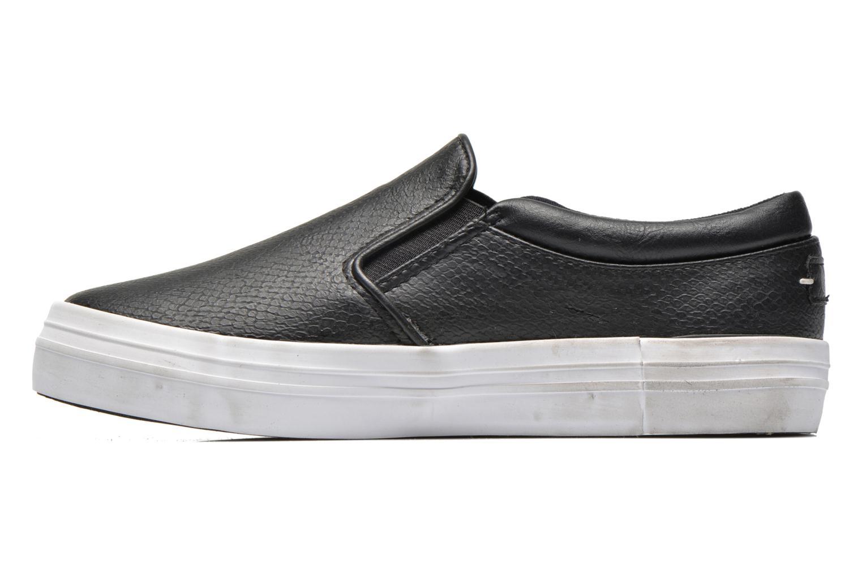 Sneaker Kaporal Flexy schwarz ansicht von vorne