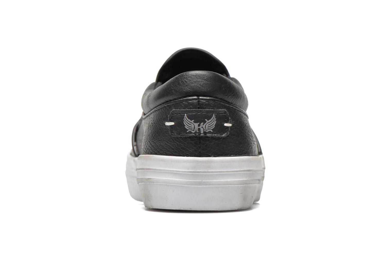 Sneaker Kaporal Flexy schwarz ansicht von rechts