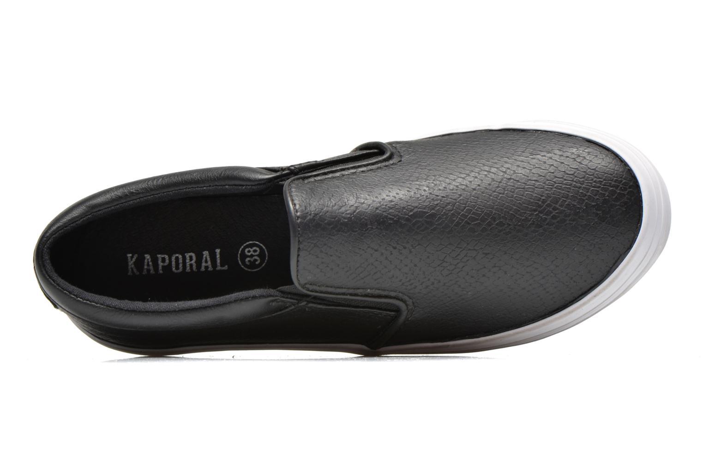 Sneaker Kaporal Flexy schwarz ansicht von links