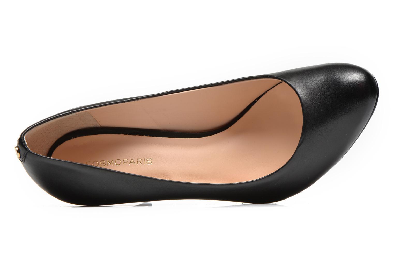Zapatos de tacón COSMOPARIS Jelissa Negro vista lateral izquierda