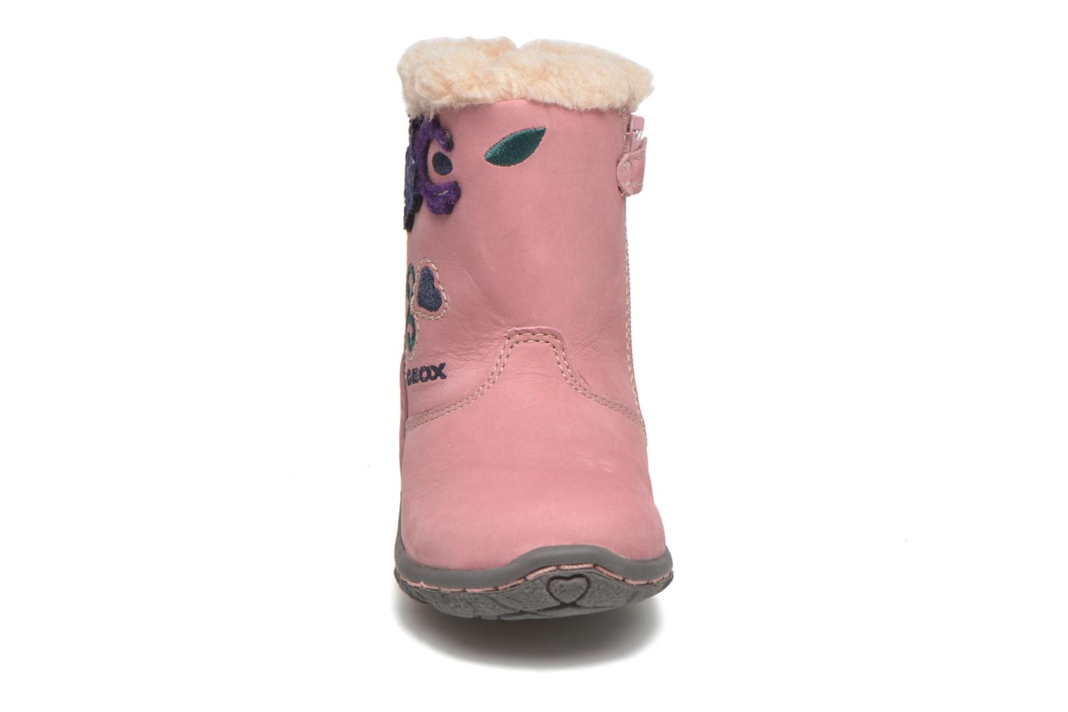 Bottes Geox B Lolly G Rose vue portées chaussures