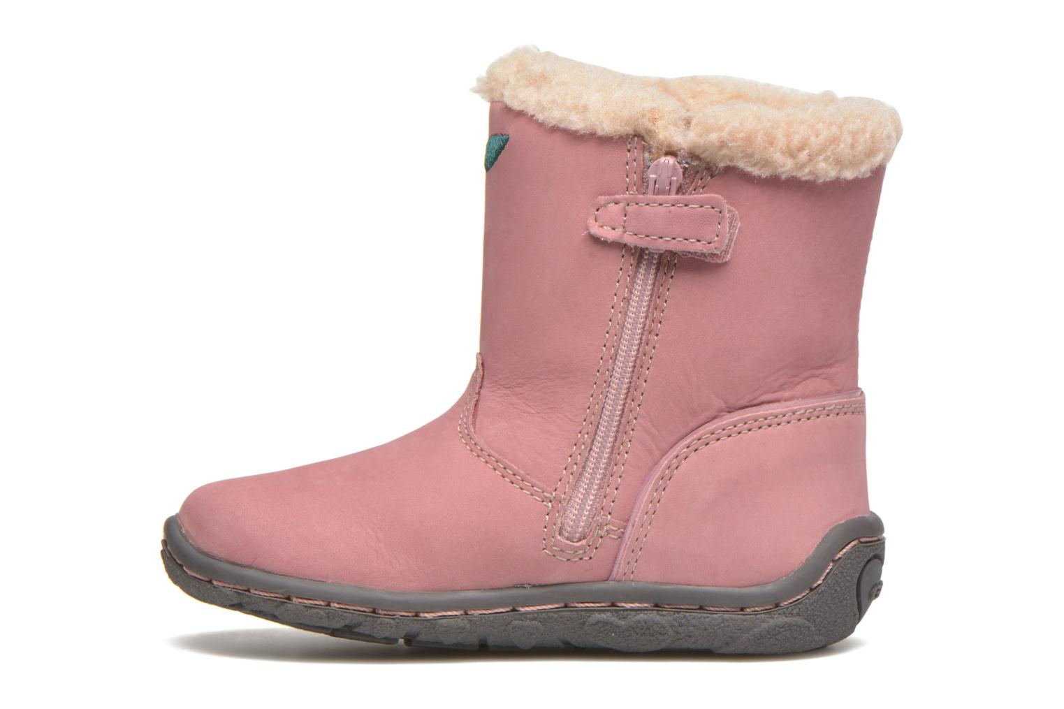 Bottes Geox B Lolly G Rose vue face