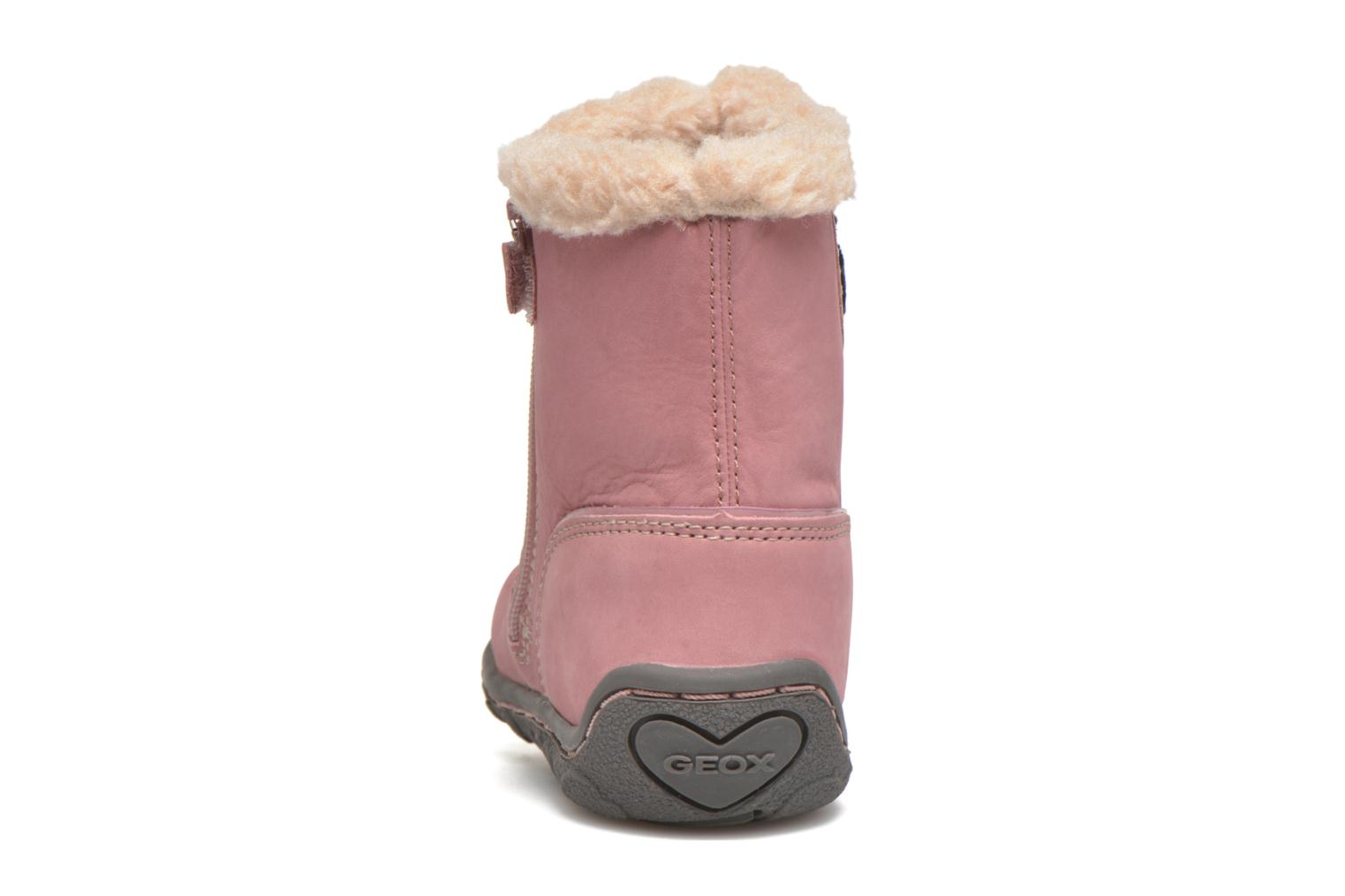 Bottes Geox B Lolly G Rose vue droite