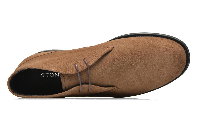 Chaussures à lacets Stonefly Class 1 Marron vue gauche